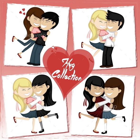 Hug Collection - Valentines Seasons/Holidays