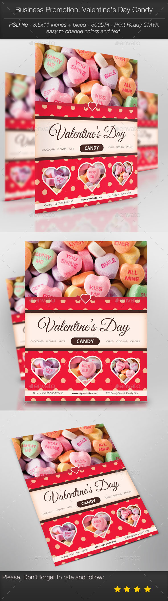Business Promotion: Valentine's Day Candy - Holidays Events