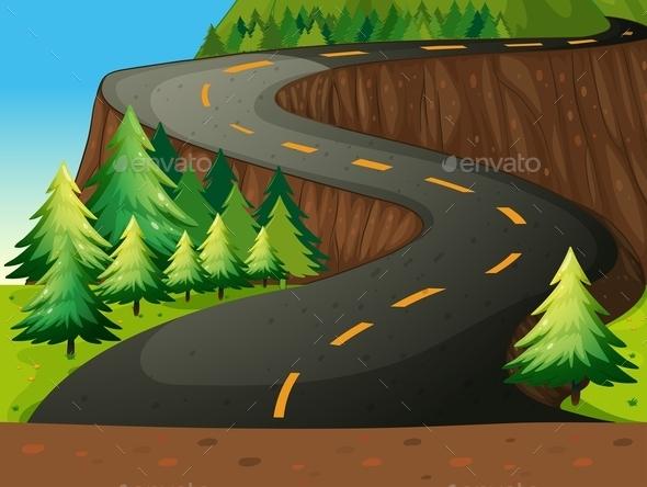 Road - Landscapes Nature
