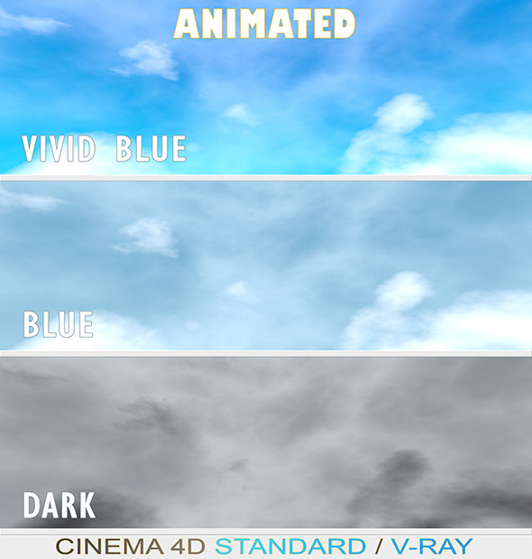 Animated Skies - 3DOcean Item for Sale