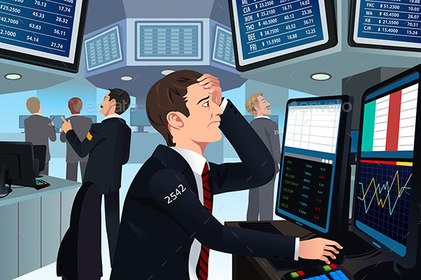 Stock Trader in Stress - Business Conceptual