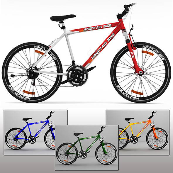 Mountain Bike MTB - 3DOcean Item for Sale