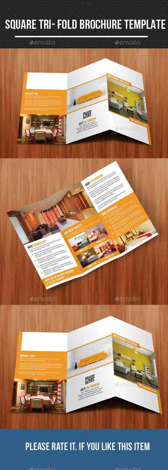 Interior- Tri Fold Brochure - Corporate Brochures