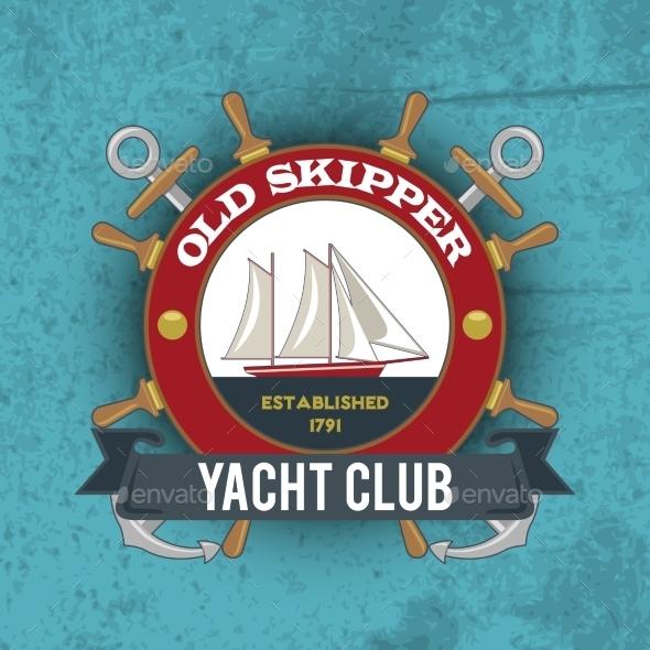 Nautical Emblem Vintage - Miscellaneous Vectors