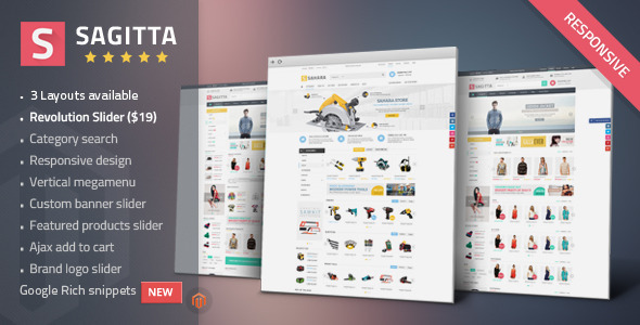 Sagitta – Mega Store Responsive Magento Theme