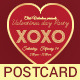Valentines Day Flyer / Postcard  - GraphicRiver Item for Sale