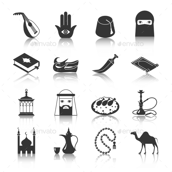 Arabic Culture Icon - Miscellaneous Icons