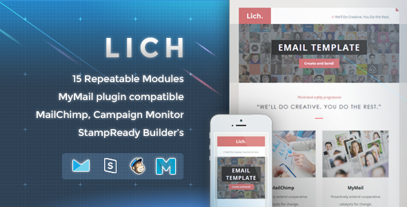 Lich – Responsive Email Template