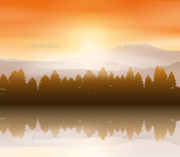 Sunset Landscape - Landscapes Nature