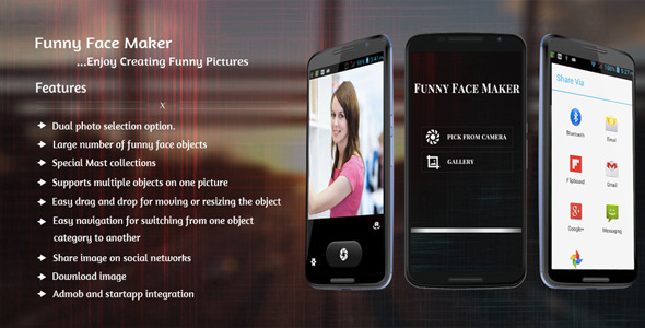 Funny Face Maker - CodeCanyon Item for Sale