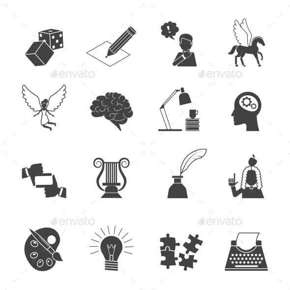 Muse Icon Set - Web Elements Vectors