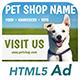 Ad HTML5 Template | Pet Shop