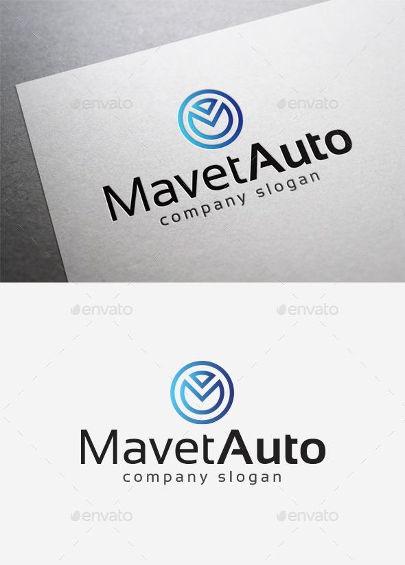 Mavet Auto Logo - Letters Logo Templates