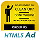 Ad HTML5 Template   Cleaning Service - CodeCanyon Item for Sale