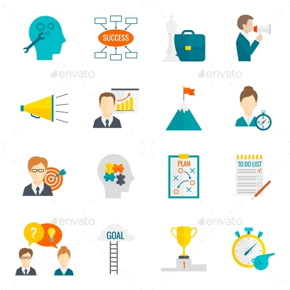 Coaching Business Icons - Concepts Business