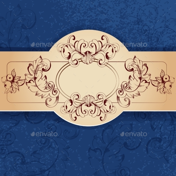 Vintage Sketch Background - Backgrounds Decorative
