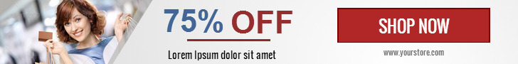 Ad HTML5 Template | Retail Sale