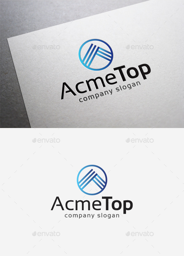 Acme Top Logo - Letters Logo Templates
