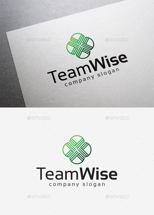 Team Wise Logo - Abstract Logo Templates