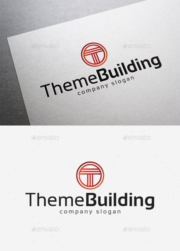 Theme Building Logo - Letters Logo Templates