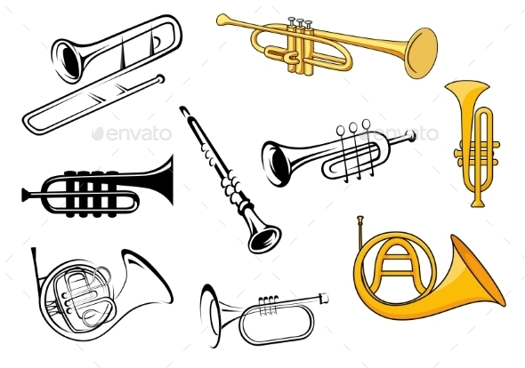 Wind Instruments - Man-made Objects Objects