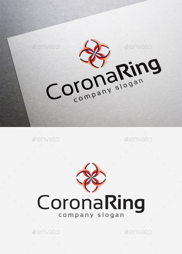 Corona Ring Logo - Abstract Logo Templates