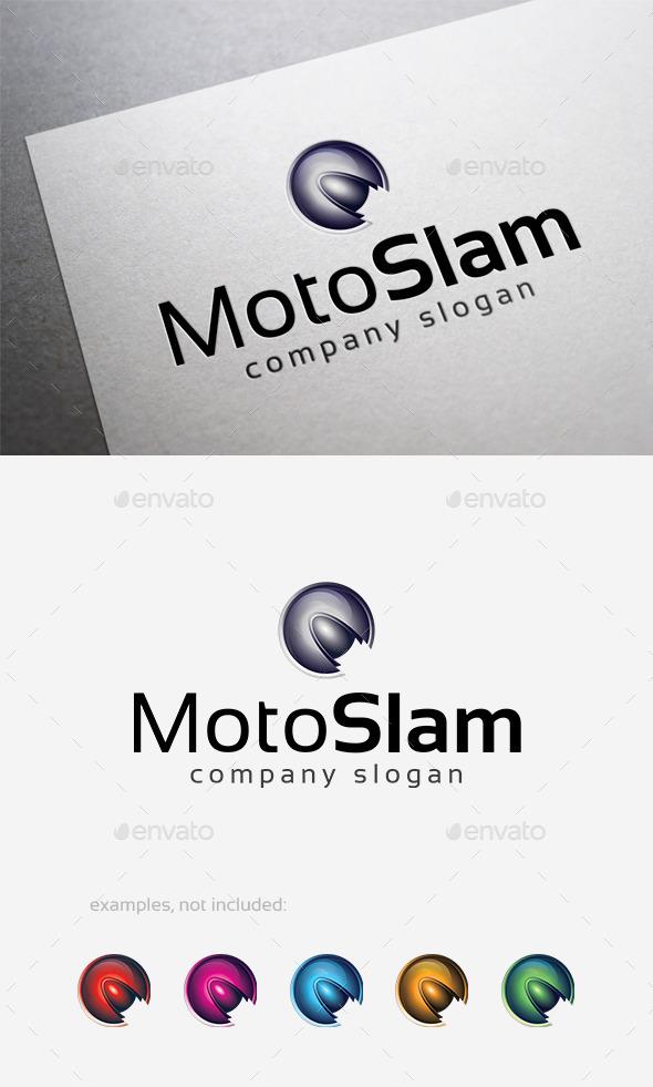 Moto Slam Logo - 3d Abstract