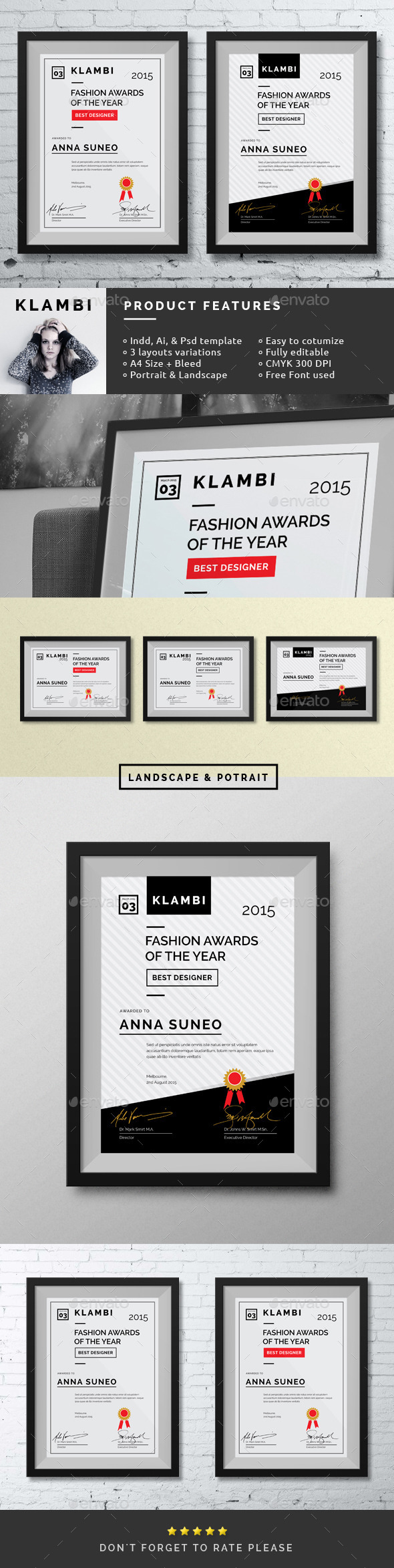 Fashion Certificate - Certificates Stationery