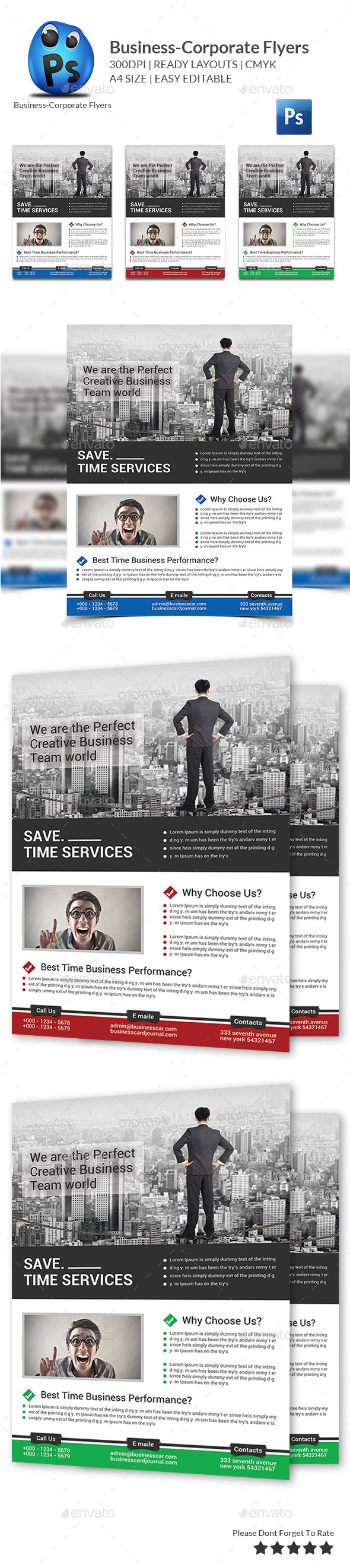 Business Flyers Templates - Corporate Flyers