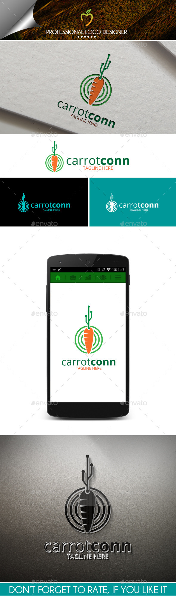 Carrot Connections Logo - Symbols Logo Templates