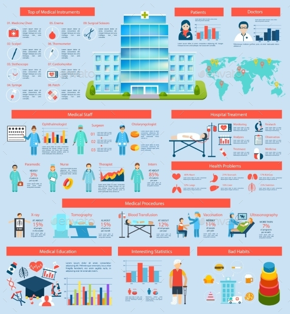 Medical Infographic Set - Infographics