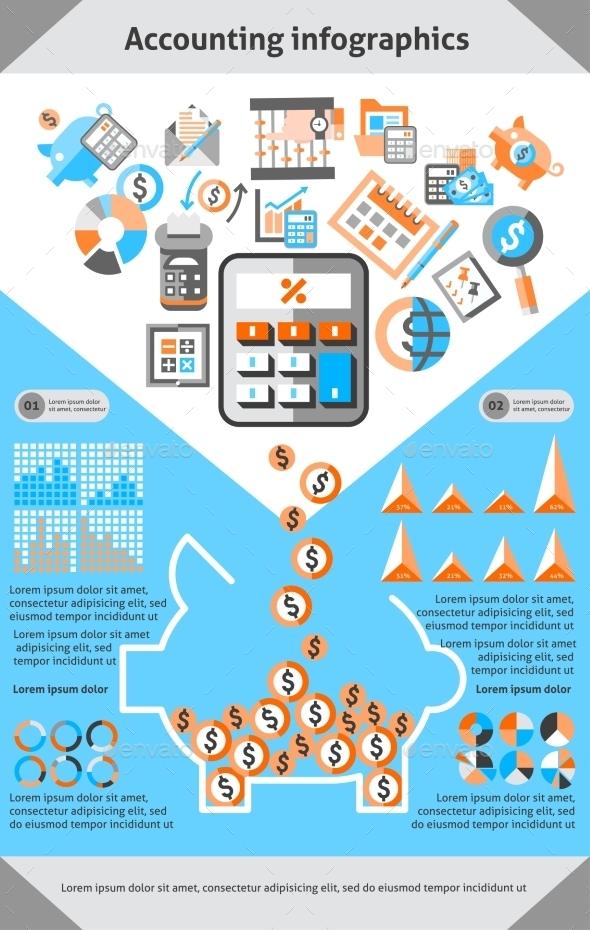 Accounting Infographics Set - Infographics