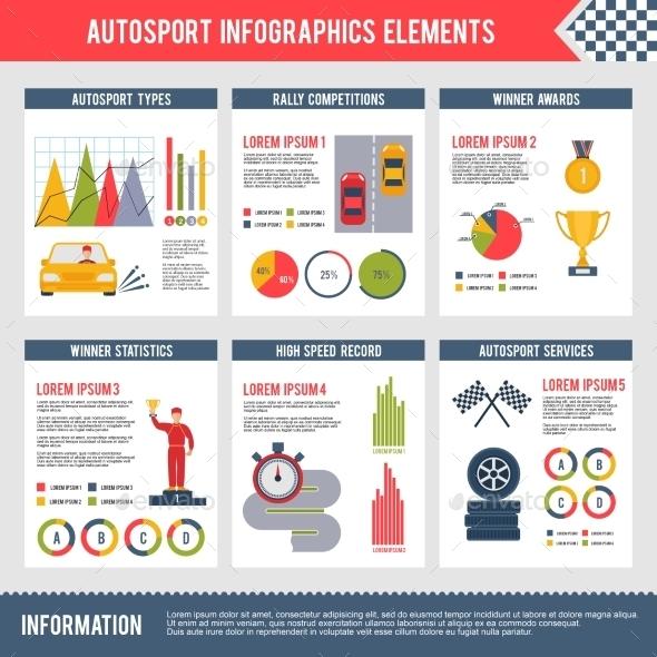 Auto Sport Infographics - Infographics