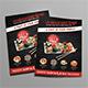 Sushi Restaurant Flyer - GraphicRiver Item for Sale