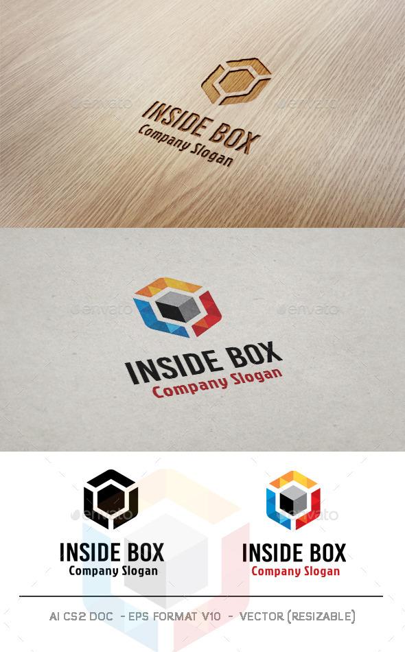 Inside Box Logo - Abstract Logo Templates