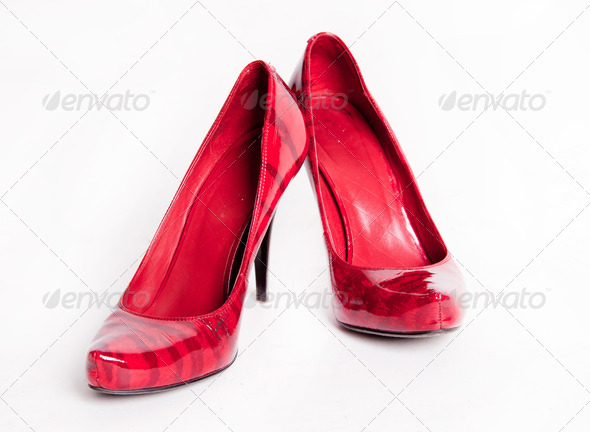 Women's shoes - Stock Photo - Images