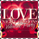 Valentine Love Night Sessions Party Flyer - GraphicRiver Item for Sale