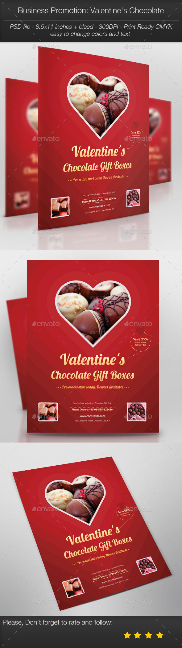 Business Promotion: Valentine's Chocolate - Holidays Events