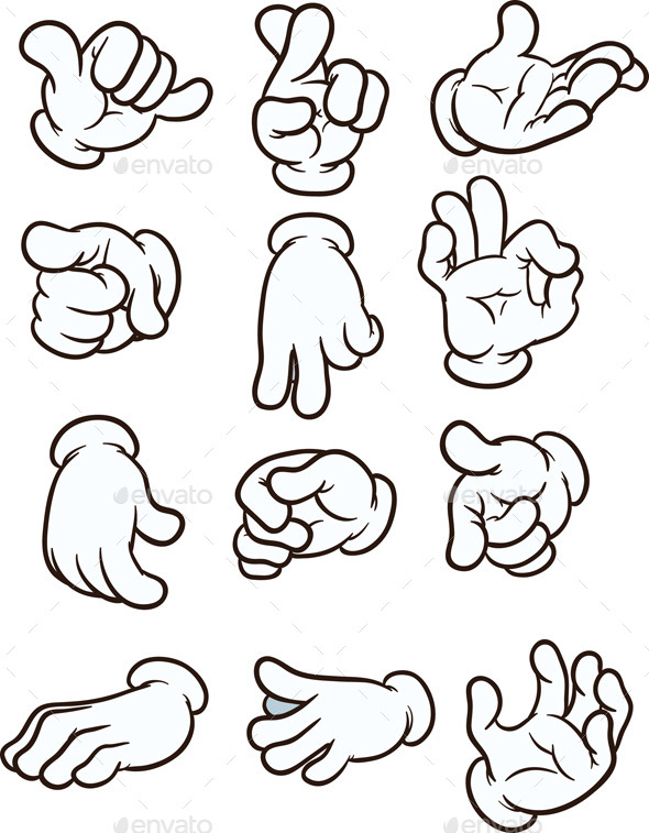 Cartoon Hands - Miscellaneous Conceptual