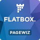 FlatBox - Pagewiz Startup Landing Page Template - ThemeForest Item for Sale