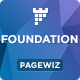 Foundation - Pagewiz Nonprofit Landing page - ThemeForest Item for Sale