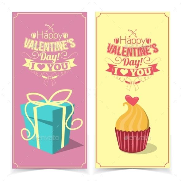 Saint Valentine's Day Banners. - Valentines Seasons/Holidays
