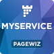 MYSERVICE - SaaS Product Pagewiz Landing Page Template - ThemeForest Item for Sale
