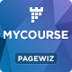 MYCourse - Pagewiz eCourse Landing Pages Pack - ThemeForest Item for Sale
