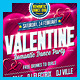 Valentines Day Dance Party Flyer - GraphicRiver Item for Sale