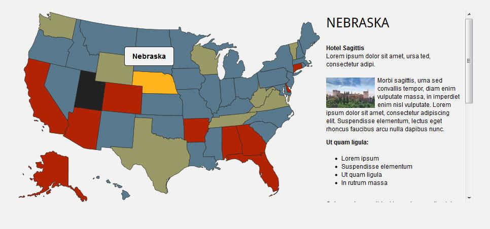 Map Of Usa Interactive.Interactive Svg Usa Map
