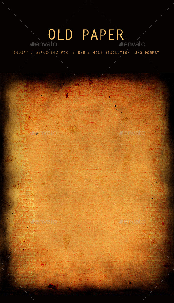 Old Paper Texture 0073 - Paper Textures