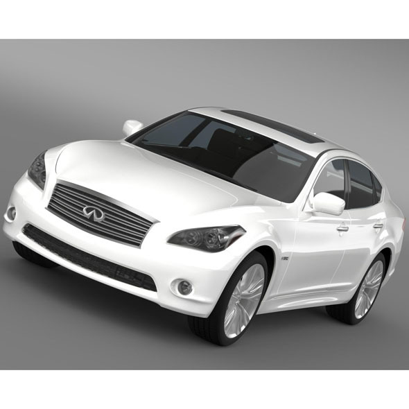 Infiniti Q 70 Hybrid Y51 2014 - 3DOcean Item for Sale