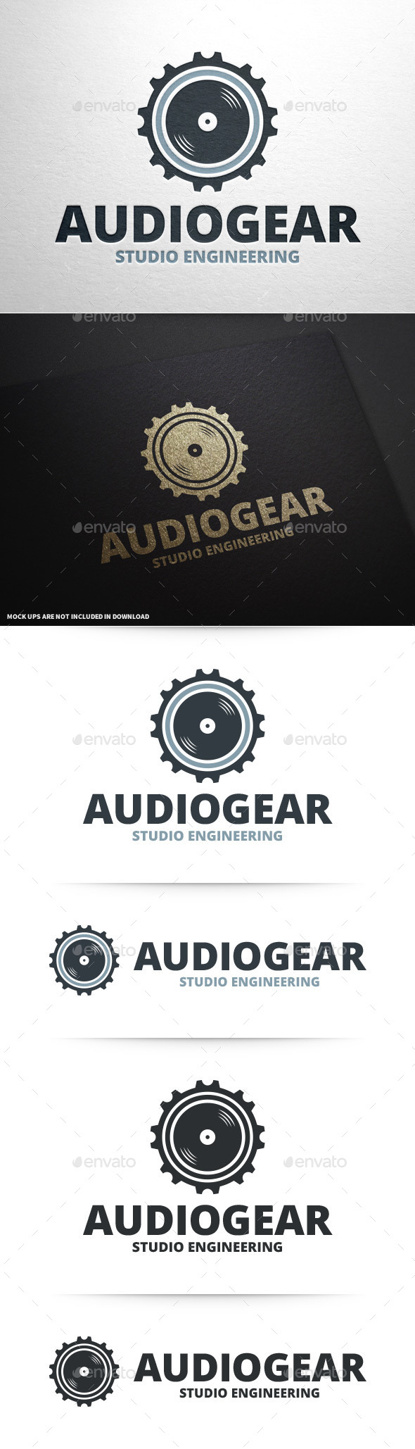 Audio Gear Logo Template - Objects Logo Templates