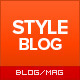 StyleBlog - Modern Personal, News WordPress Theme - ThemeForest Item for Sale